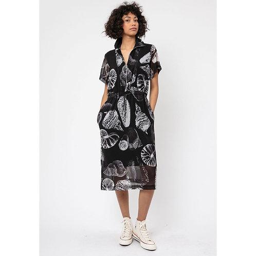 Religion - SUPREME' shell print dress