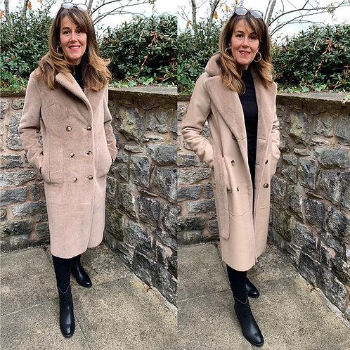 Rino & Pelle - Reversible faux fur/leather coat