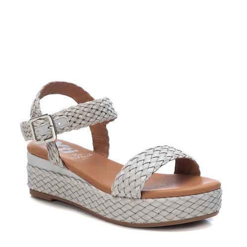 XTI - Woven effect flatform sandal