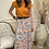 Thumbnail: French connection - Printed pleat skirt