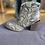 Thumbnail: XTI - Snake print boots - Beige
