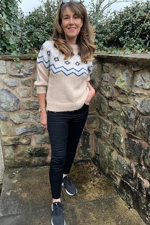 Vero Moda - Fair isle knitted  jumper