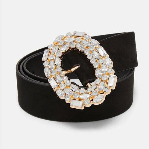 Vero Moda - 'SHINY' - Jewel buckle belt