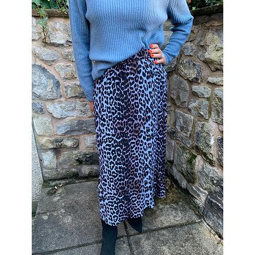 B.Young - Leopard print skirt