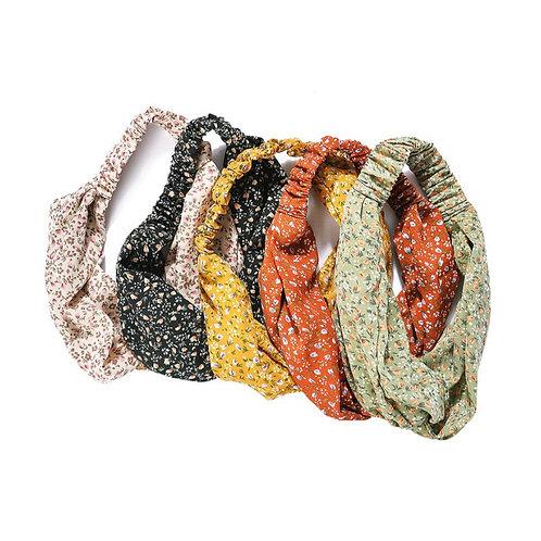 Ditsy print soft headband