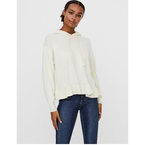 Vero Moda - Frill bottom knitted hoody