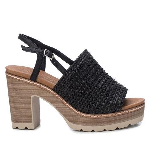 Carmela - Woven front heel