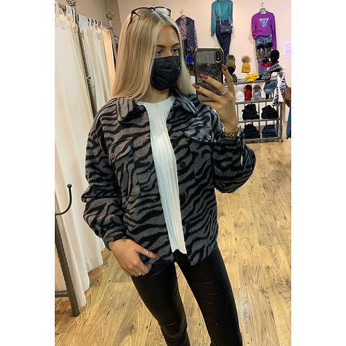 Vero Moda - Grey/Black Shacket