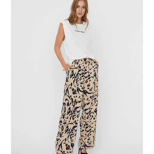 Vero Moda - Animal print trousers