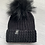Thumbnail: Luxy London - BOSTON cable knit Pom Pom hat