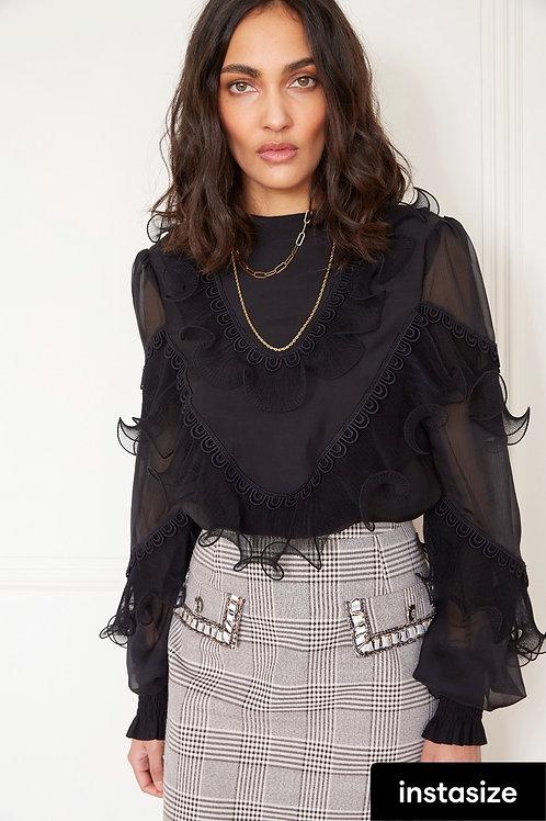 Jovonna - SLOAN Ruffle detail blouse