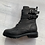 Thumbnail: Carmela - Black leather biker boots