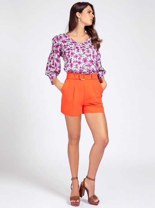 GUESS - BELTED REGULAR FIT SHORTS