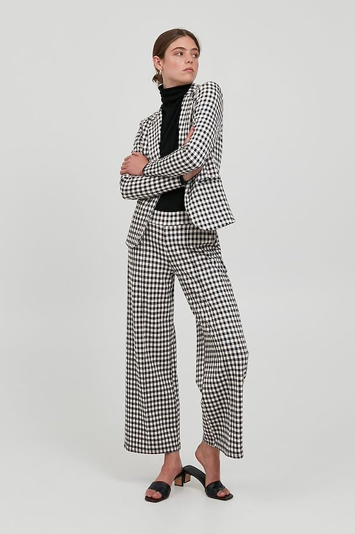 ICHI - KATE CHECKY - Checked trousers
