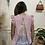 Thumbnail: Stripe lace back top