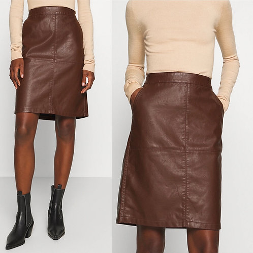 Soya Concept - Faux leather skirt
