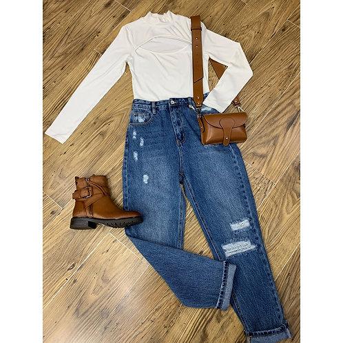 Vero Moda - Cut out bodysuit