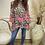 Thumbnail: Malissa J - Neon animal print oversized top