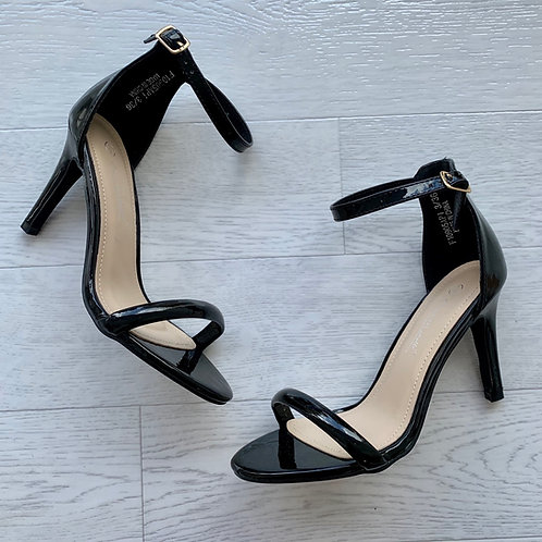 Barely there strap shoes