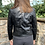 Thumbnail: Malissa J - Short faux leather jacket