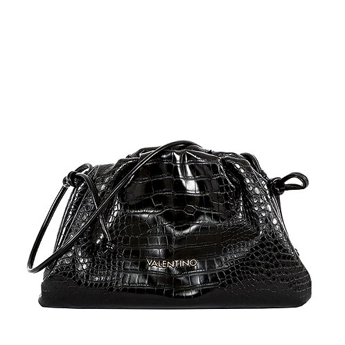 Valentino by Mario Valentino - Croc slouch clutch