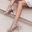 Thumbnail: XTI - Suedette cage shoes
