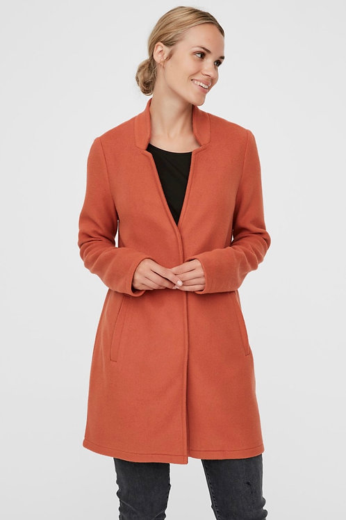 Vero Moda - Soft 3/4 jacket - Terracota