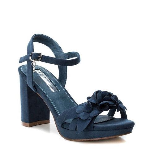 XTI - Flower appliqué sandal