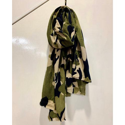 Jayley - Camo print  scarf