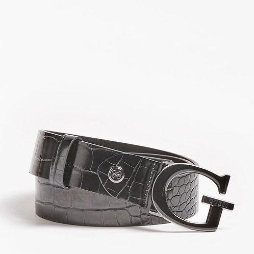 GUESS - 'STEPHI' - Croc G belt