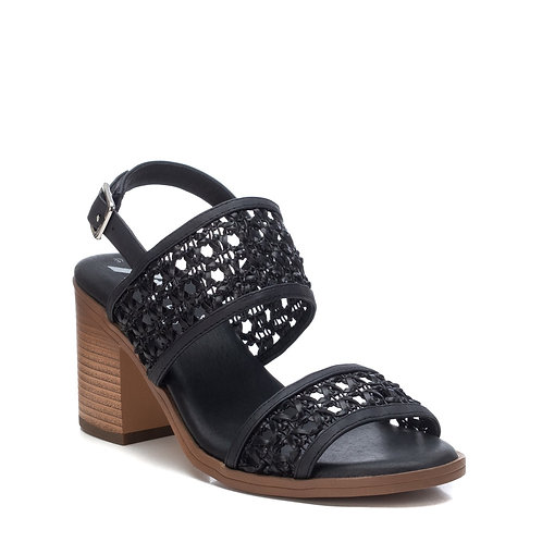 XTI - sling back chunky heel sandal