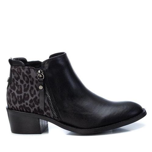 XTI - Leopard detail ankle boot