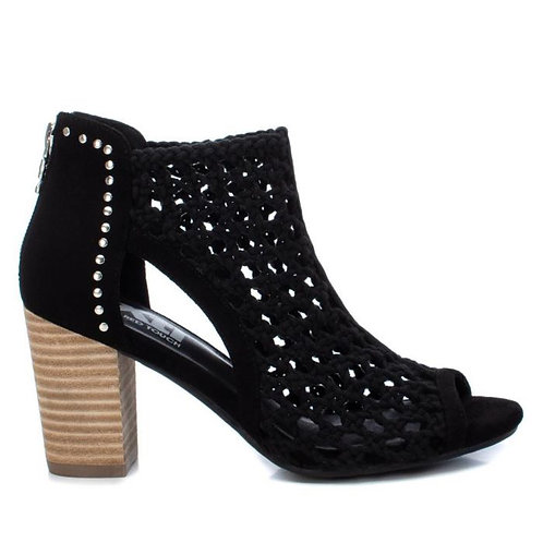 XTI - Peep toe ankle boots