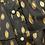 Thumbnail: Jovonna - Gold spot frill blouse