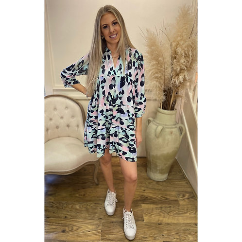 Animal print prairie dress