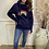 Thumbnail: Neon Marl - Neon rainbow cowl hoodie