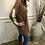 Thumbnail: Malissa J - V.Neck chevron jumper