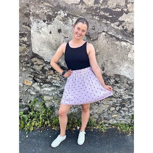 ICHI - Polka dot skirt