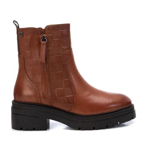 Carmela - 67972 - Lattice zip leather ankle boot