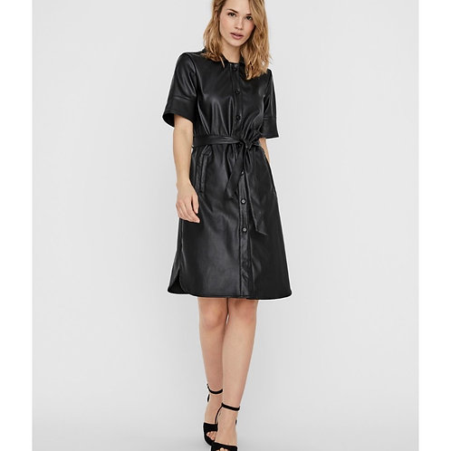 Vero Moda - Faux Leather dress