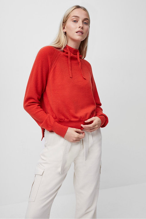 French Connection - LINA VHARI LONG SLEEVE HOODIE