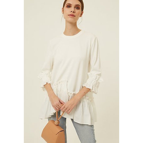 Jovonna - KLEE - Frill detail tunic/top
