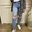 Thumbnail: Vero Moda - Ripped straight leg ankle mom jeans