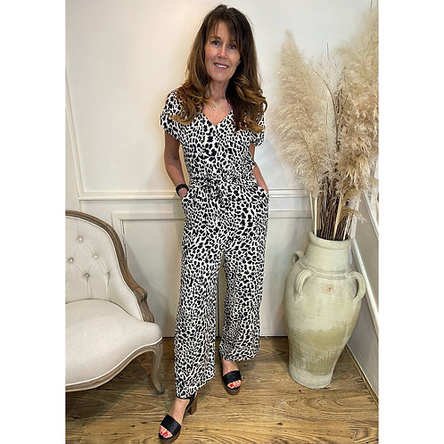 B.Young - Animal print jumpsuit