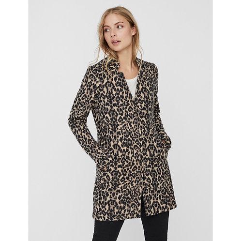 Vero Moda - Leopard fleece jacket