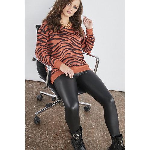 Sundae Tee - 'TATUM' Tiger print sweater