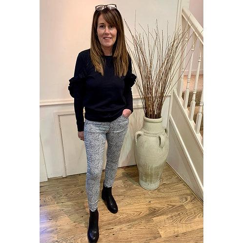 B.Young - Dalmatian print jeans