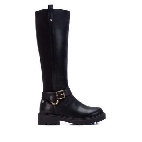 XTI - 43278 - Buckle detail knee boot
