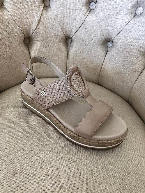 Carmela - Woven detail sandal