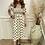 Thumbnail: Polka dot puff sleeve dress